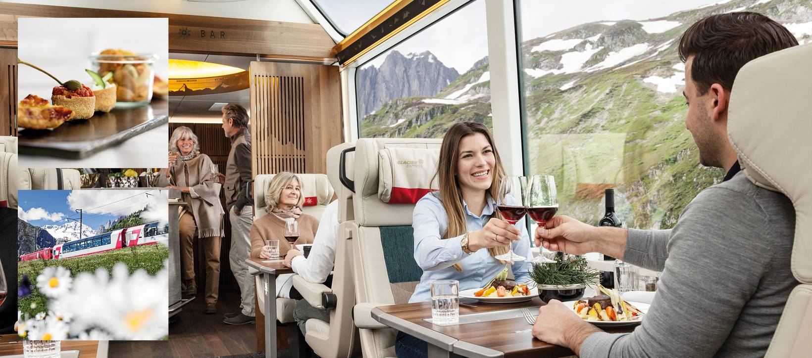 Excellence Class   luxuriös entdecken mit dem Glacier Express